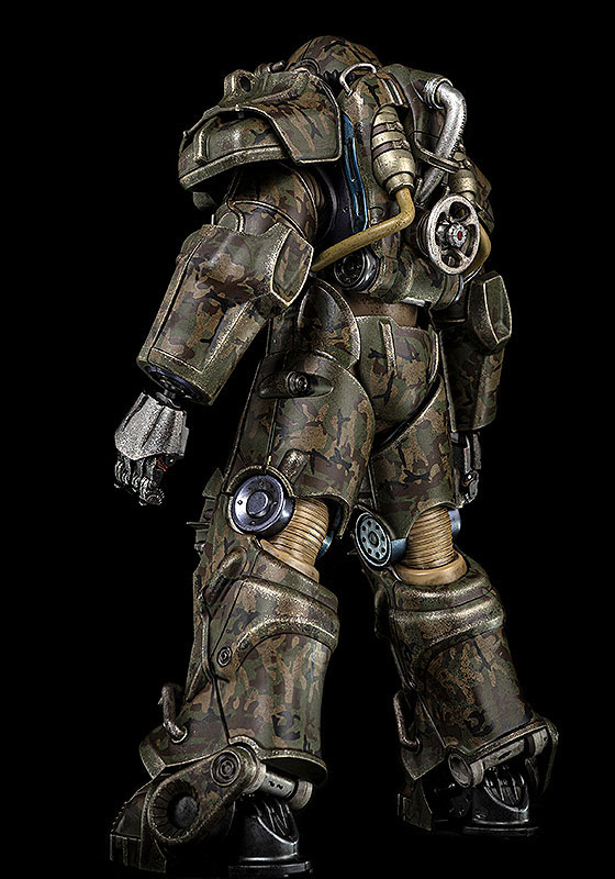 Fallout『T‐60 Camouflage Power Armor(T-60 迷彩パワーアーマー)』フォールアウト 1/6 可動フィギュア-004