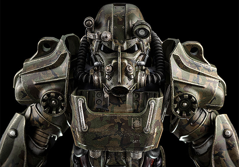 Fallout『T‐60 Camouflage Power Armor(T-60 迷彩パワーアーマー)』フォールアウト 1/6 可動フィギュア-007