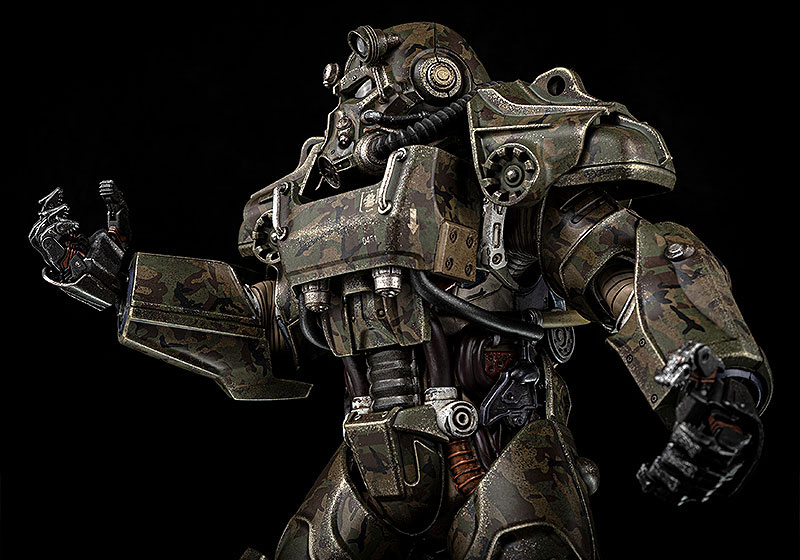 Fallout『T‐60 Camouflage Power Armor(T-60 迷彩パワーアーマー)』フォールアウト 1/6 可動フィギュア-008