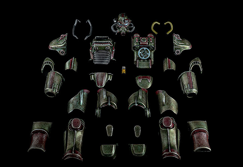 Fallout『T-45 ホットロッドシャーク・アーマー・パック(T-45 Hot Rod Shark Armor Pack)』フォールアウト 1/6 可動フィギュア-001