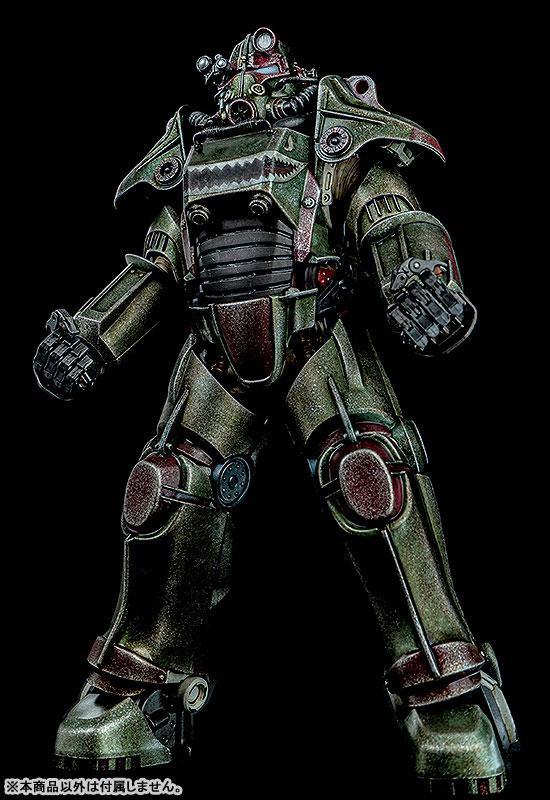 Fallout『T-45 ホットロッドシャーク・アーマー・パック(T-45 Hot Rod Shark Armor Pack)』フォールアウト 1/6 可動フィギュア-002