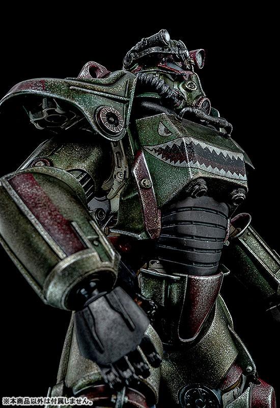 Fallout『T-45 ホットロッドシャーク・アーマー・パック(T-45 Hot Rod Shark Armor Pack)』フォールアウト 1/6 可動フィギュア-006