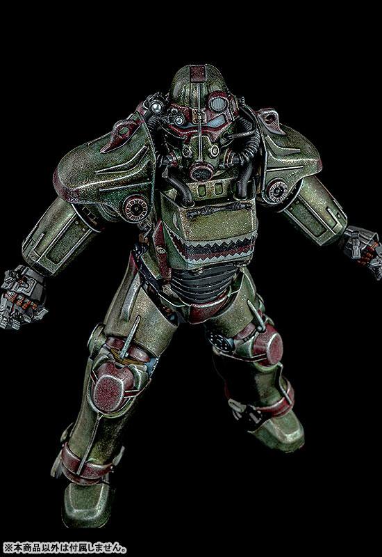 Fallout『T-45 ホットロッドシャーク・アーマー・パック(T-45 Hot Rod Shark Armor Pack)』フォールアウト 1/6 可動フィギュア-007