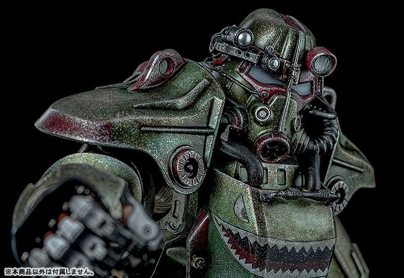 Fallout『T-45 ホットロッドシャーク・アーマー・パック(T-45 Hot Rod Shark Armor Pack)』フォールアウト 1/6 可動フィギュア-010