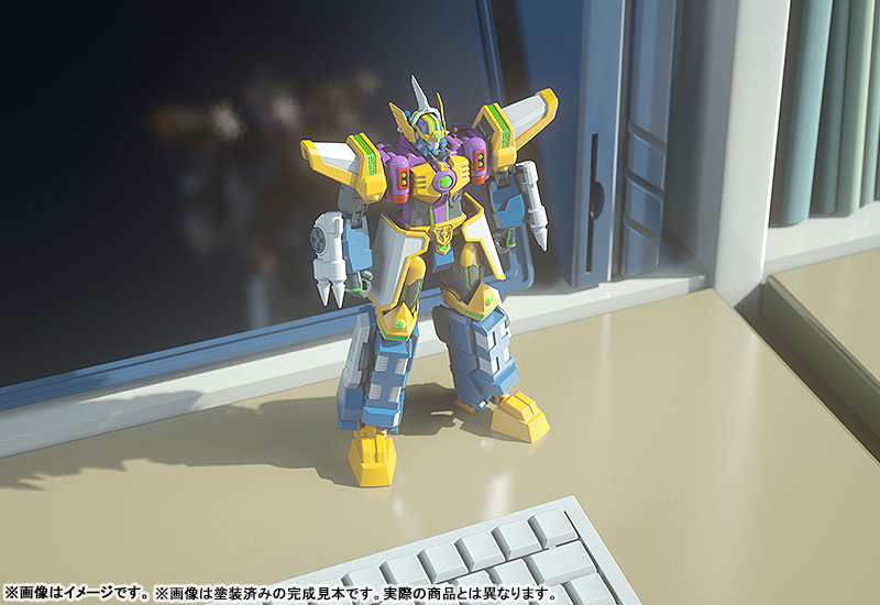 MODEROID『グラディオン』電脳冒険記ウェブダイバー プラモデル-009