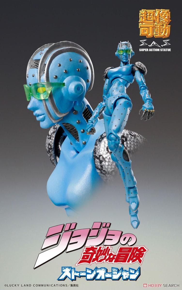 【再販】超像可動『空条徐倫』ジョジョの奇妙な冒険 Part6 ストーンオーシャン 可動フィギュア-006