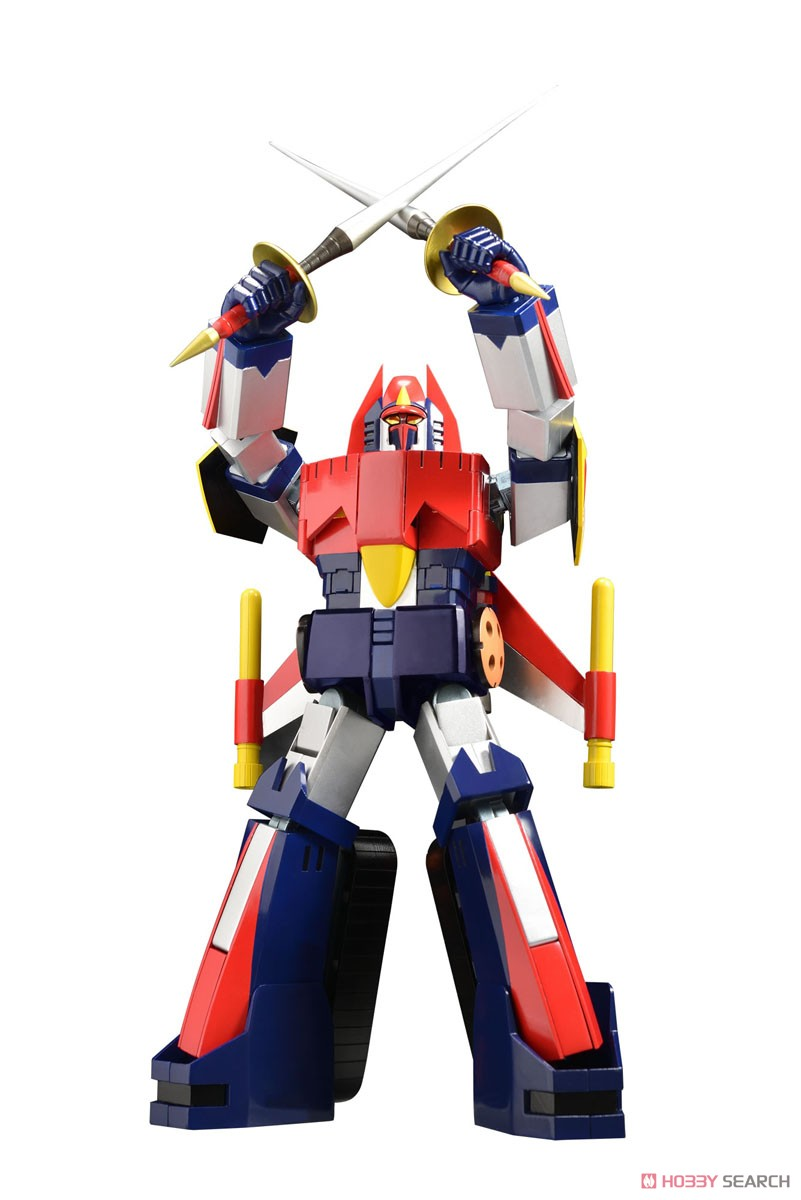 スーパーメタル・アクション『ダイケンゴー』宇宙魔神ダイケンゴー 変形合体可動フィギュア-001