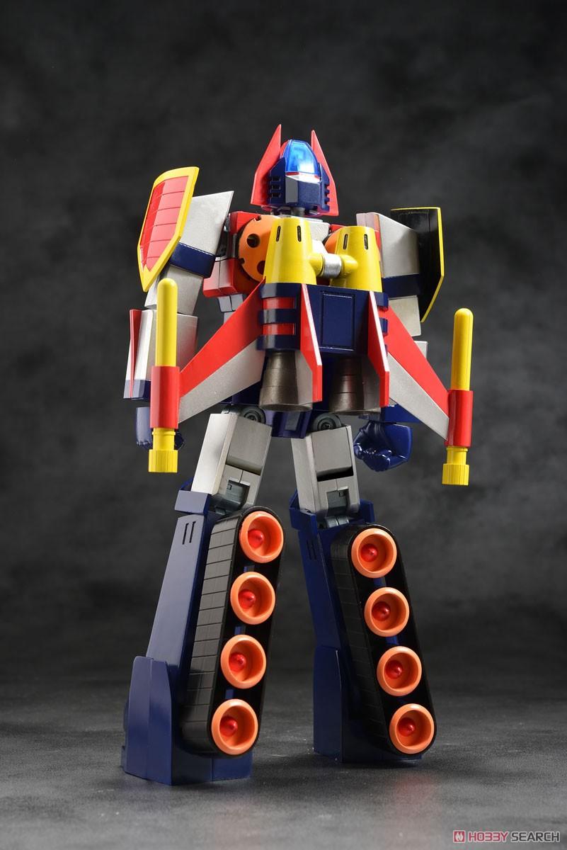 スーパーメタル・アクション『ダイケンゴー』宇宙魔神ダイケンゴー 変形合体可動フィギュア-003