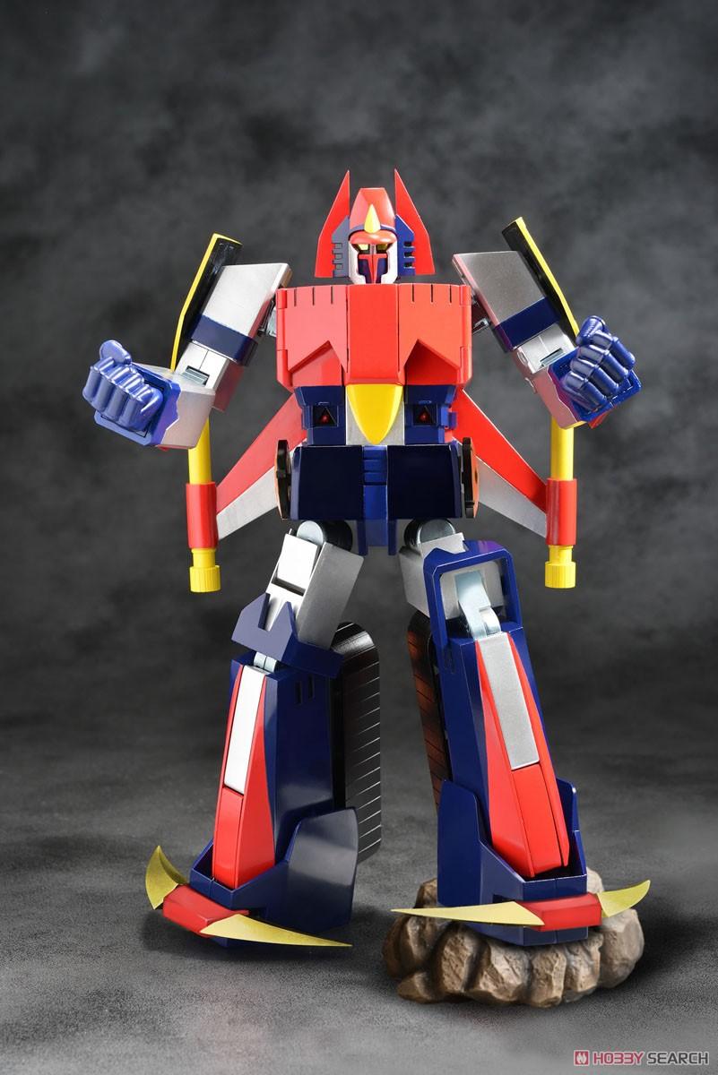 スーパーメタル・アクション『ダイケンゴー』宇宙魔神ダイケンゴー 変形合体可動フィギュア-005