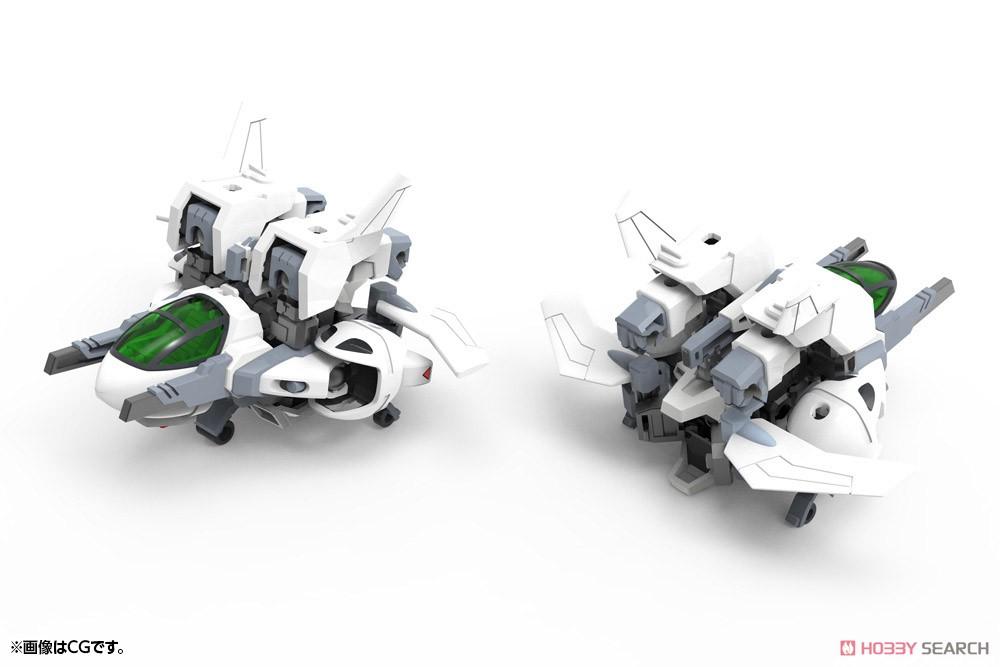 エヴォロイド『EVR-01A ジェットン』プラモデル-019
