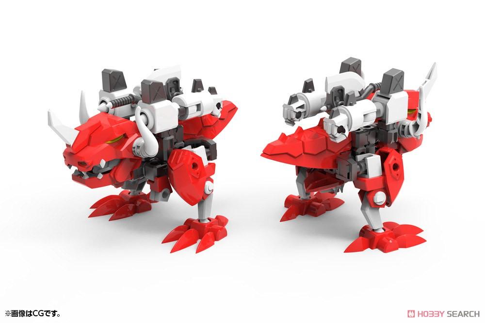 エヴォロイド『EVR-01A ジェットン』プラモデル-039