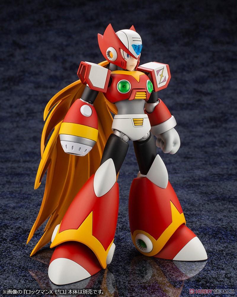 ロックマンX『セカンドアーマー』1/12 プラモデル-011