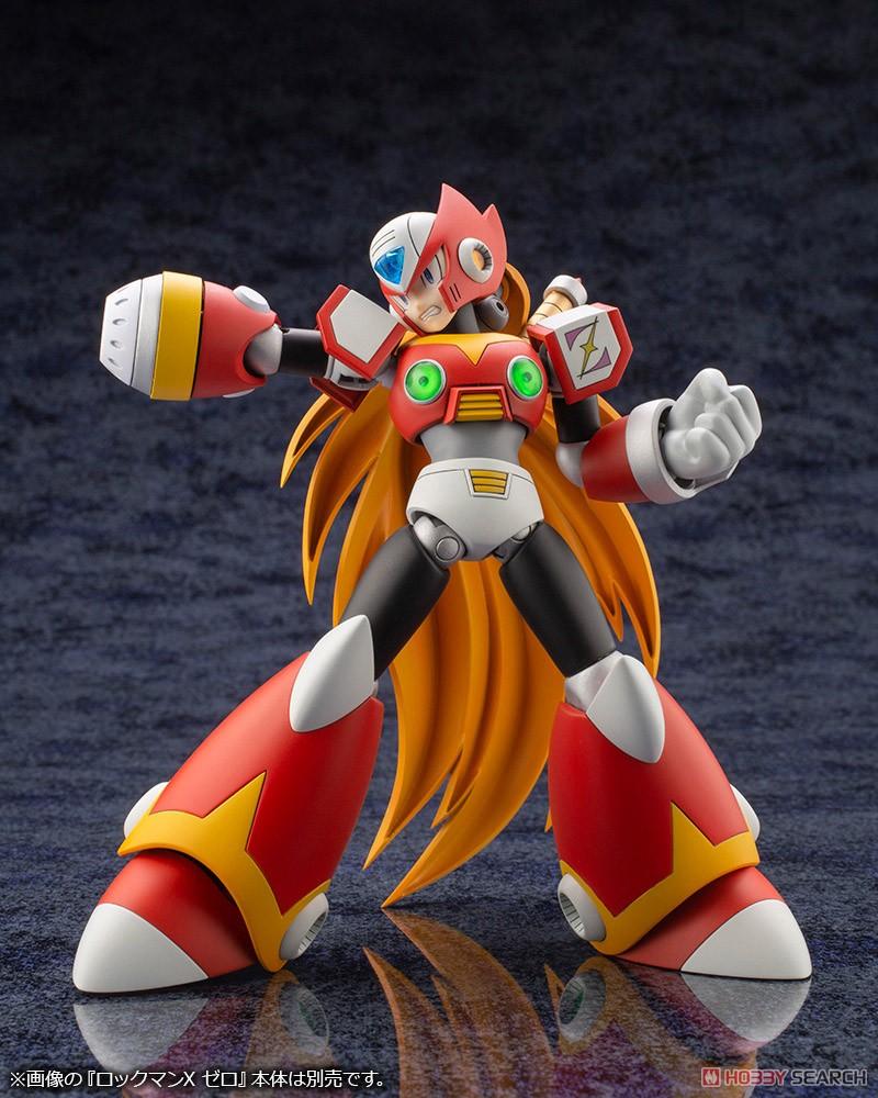 ロックマンX『セカンドアーマー』1/12 プラモデル-013