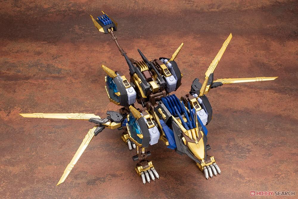 HMM ゾイド『EZ-054 ライガーゼロイクス』1/72 プラモデル-017