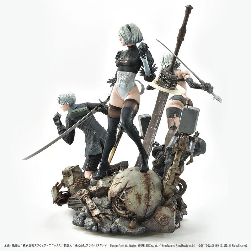 SQUARE ENIX MASTERLINE『NieR:Automata Deluxe Ver.』1/4 スタチュー-011