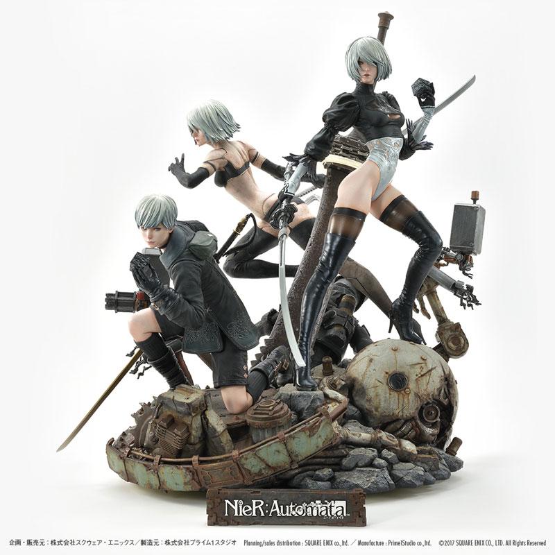 SQUARE ENIX MASTERLINE『NieR:Automata Deluxe Ver.』1/4 スタチュー-013