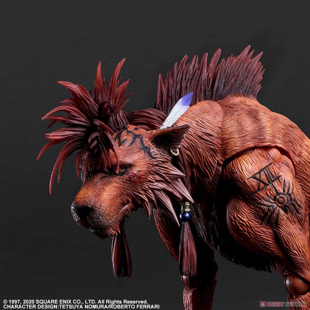 PLAY ARTS改『レッドXIII』ファイナルファンタジーVII リメイク 可動フィギュア-003