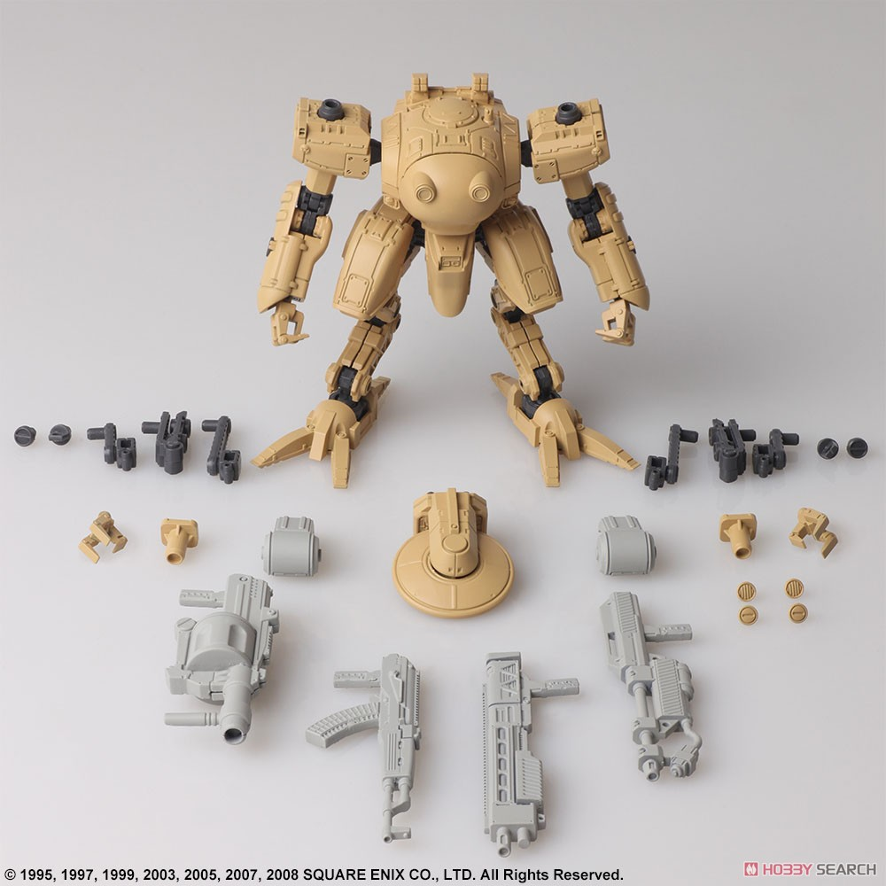 FRONT MISSION『フロントミッション ストラクチャーアーツ Vol.2』FRONT MISSION STRUCTURE ARTS 1/72 プラモデル 全4種BOX-020