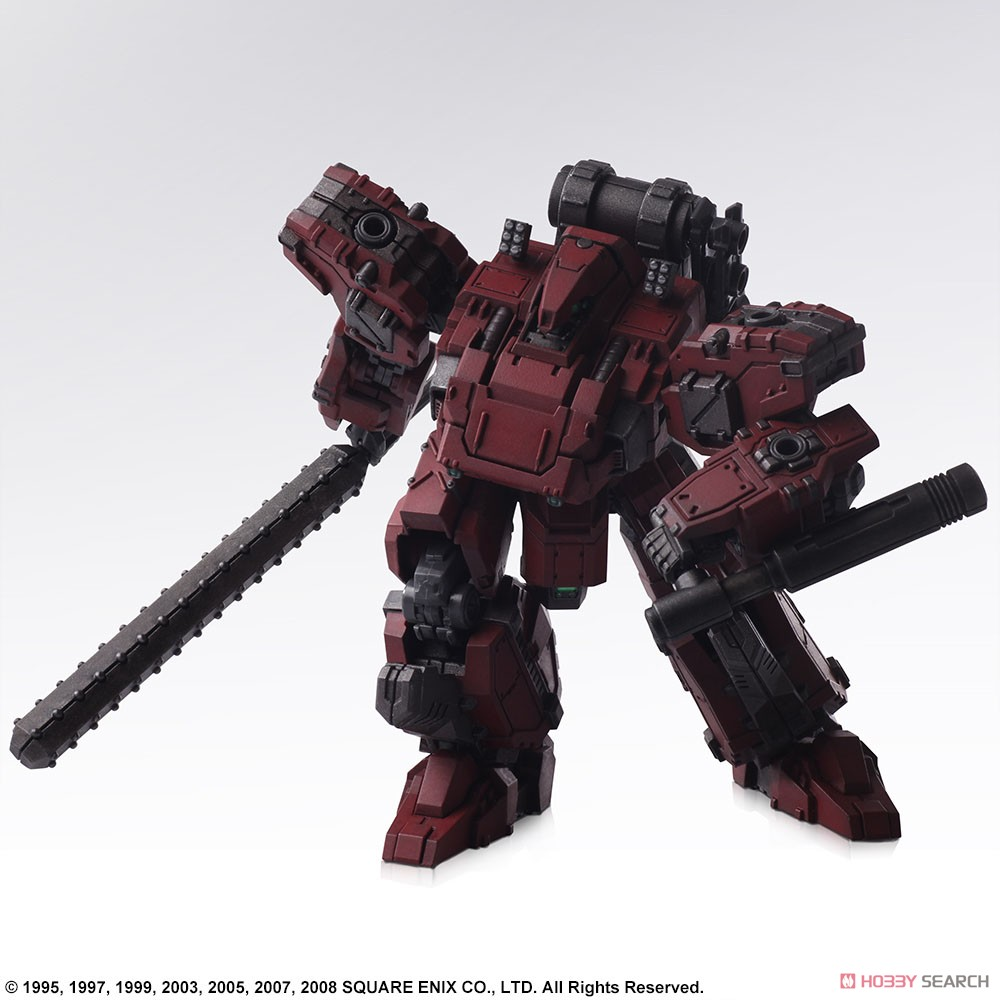 FRONT MISSION『フロントミッション ストラクチャーアーツ Vol.2 フロスト 地獄の壁 6機セット』FRONT MISSION STRUCTURE ARTS 1/72 プラモデル-008