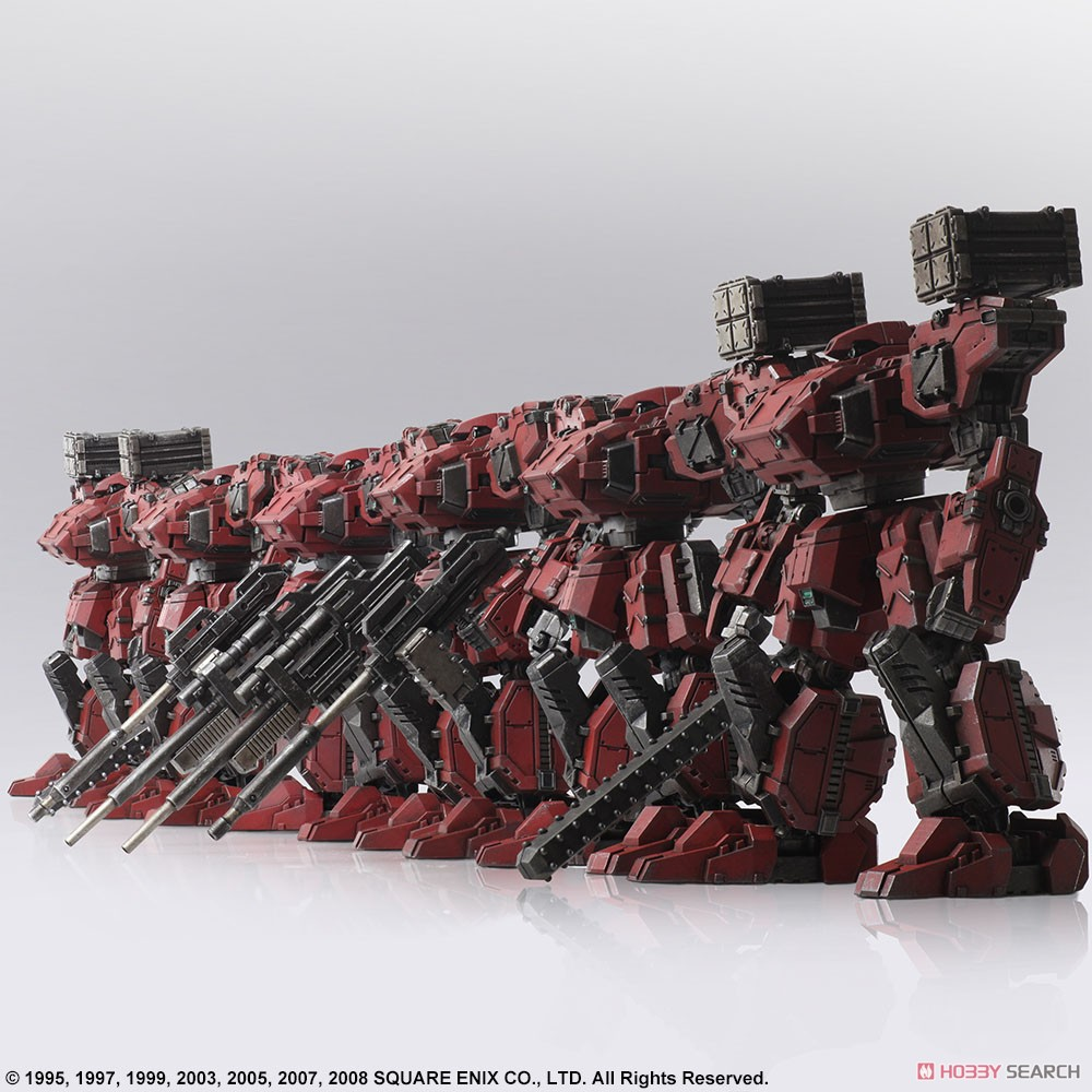 FRONT MISSION『フロントミッション ストラクチャーアーツ Vol.2 フロスト 地獄の壁 6機セット』FRONT MISSION STRUCTURE ARTS 1/72 プラモデル-012
