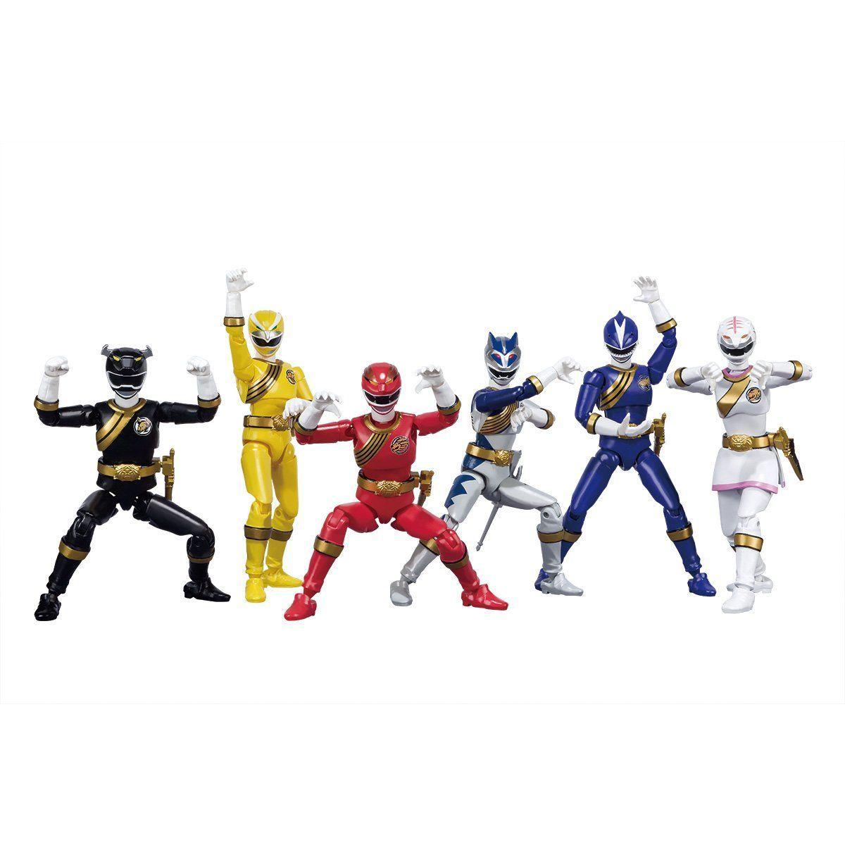 【限定販売】【食玩】SHODO SUPER『百獣戦隊ガオレンジャー』可動フィギュア-001
