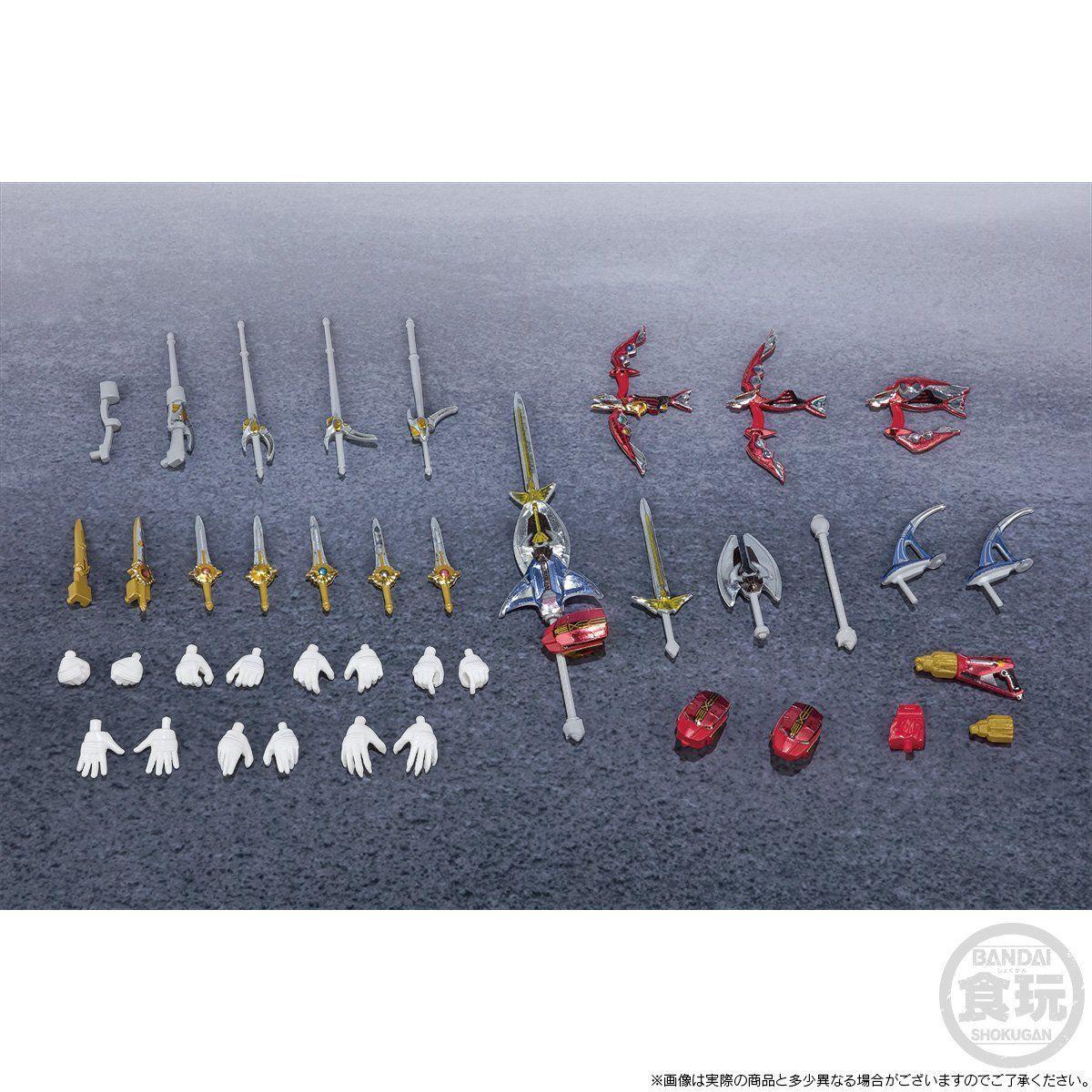 【限定販売】【食玩】SHODO SUPER『百獣戦隊ガオレンジャー』可動フィギュア-009