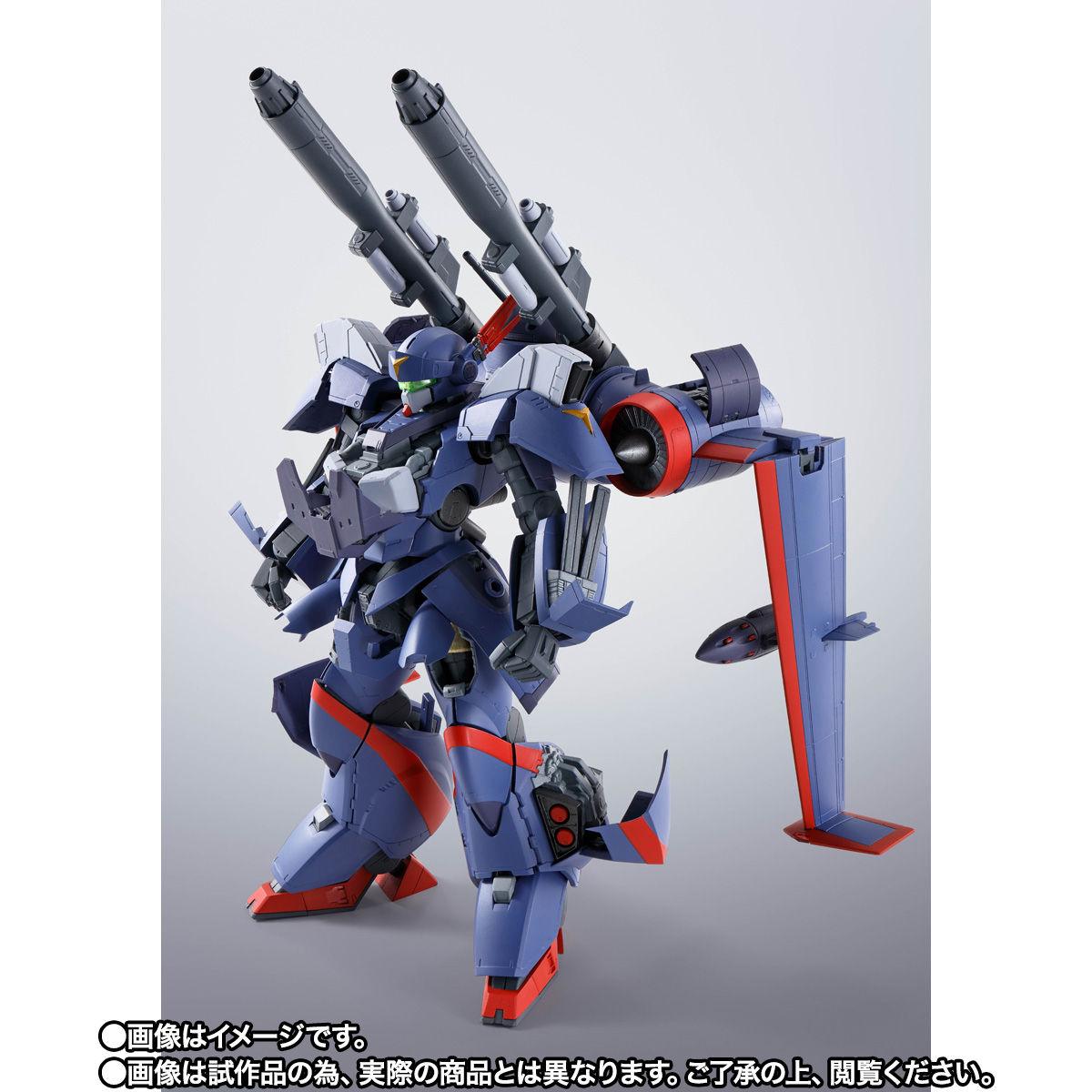 【限定販売】HI-METAL R『ドラグナー2カスタム』機甲戦記ドラグナー 可動フィギュア-003