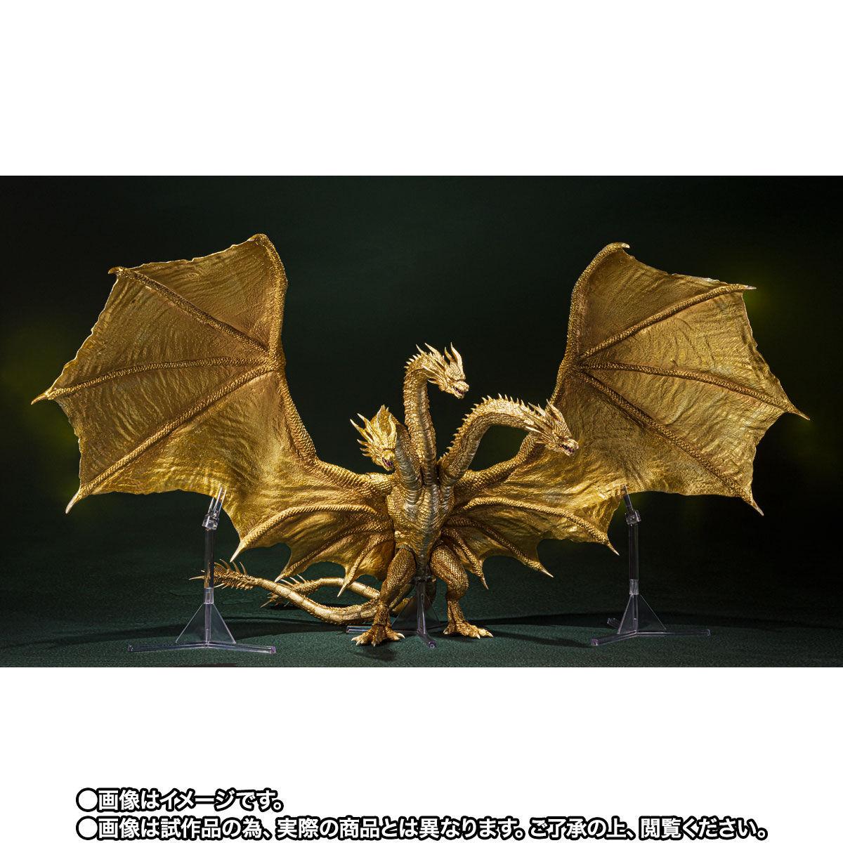 【限定販売】S.H.MonsterArts『キングギドラ(2019)Special Color Ver.』ゴジラ キング・オブ・モンスターズ 可動フィギュア-002