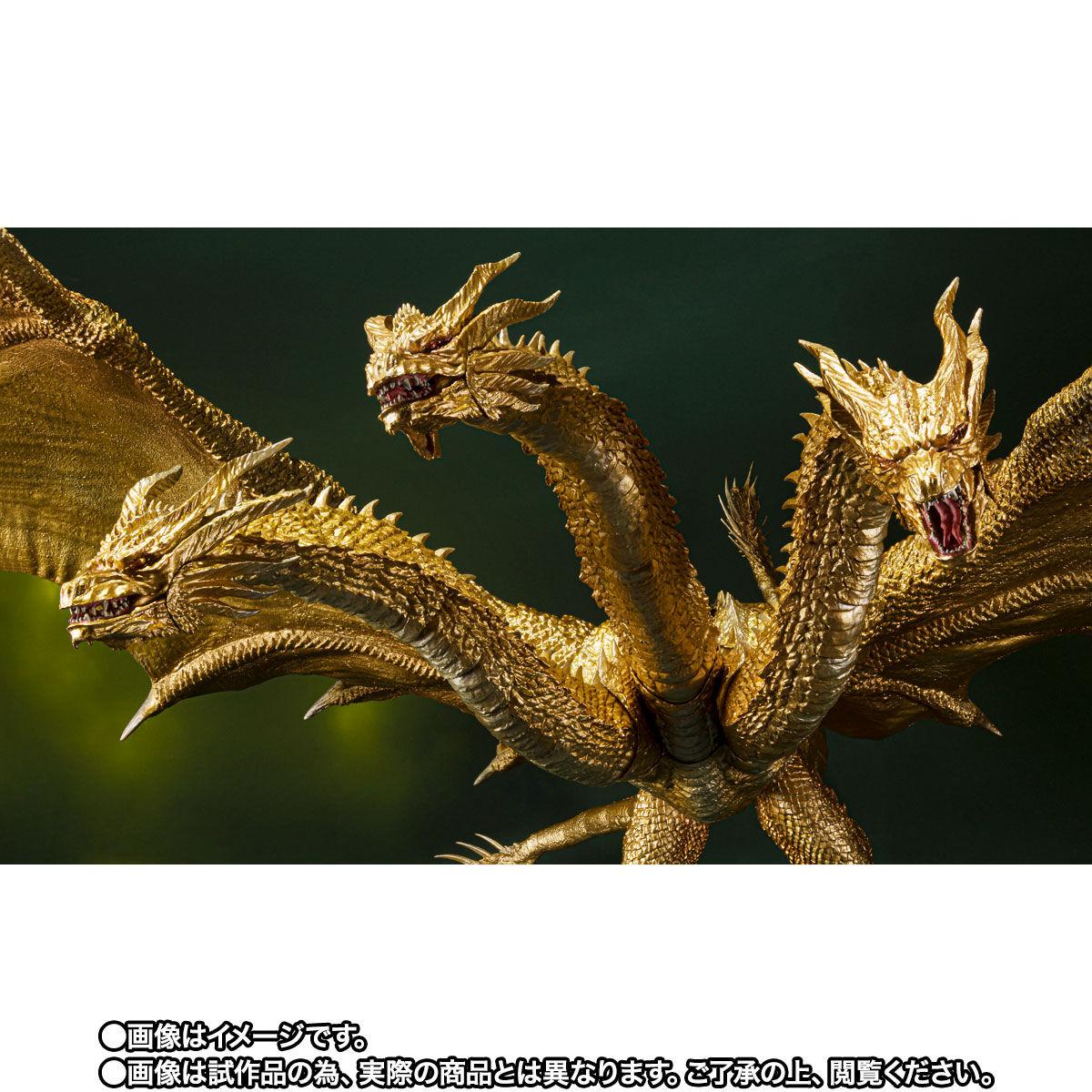 【限定販売】S.H.MonsterArts『キングギドラ(2019)Special Color Ver.』ゴジラ キング・オブ・モンスターズ 可動フィギュア-006