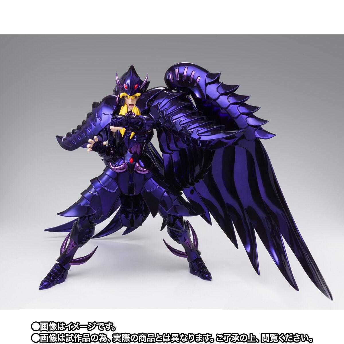 【限定販売】聖闘士聖衣神話EX『グリフォンミーノス ~ORIGINAL COLOR EDITION~』可動フィギュア-004