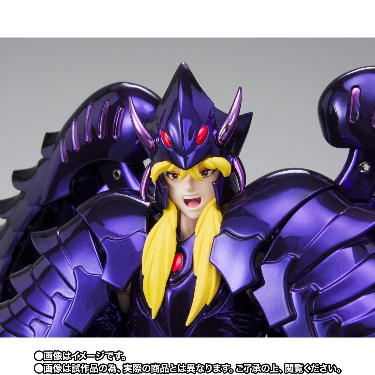 【限定販売】聖闘士聖衣神話EX『グリフォンミーノス ~ORIGINAL COLOR EDITION~』可動フィギュア-008
