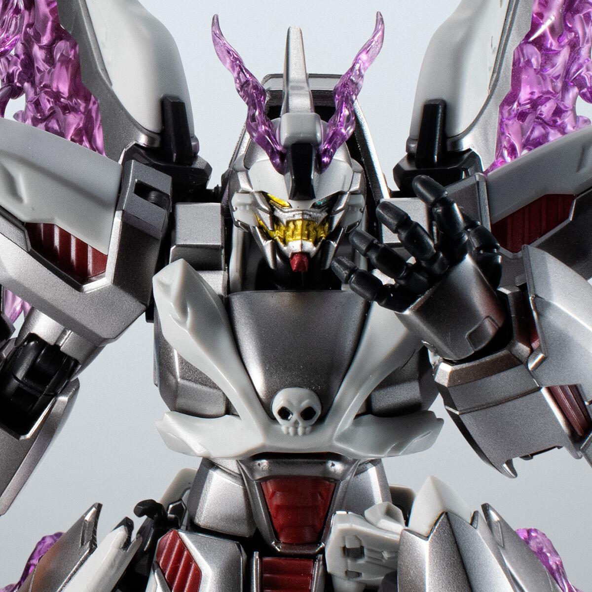 【限定販売】ROBOT魂〈SIDE MS〉『ゴーストガンダム』クロスボーン・ガンダム 可動フィギュア-001