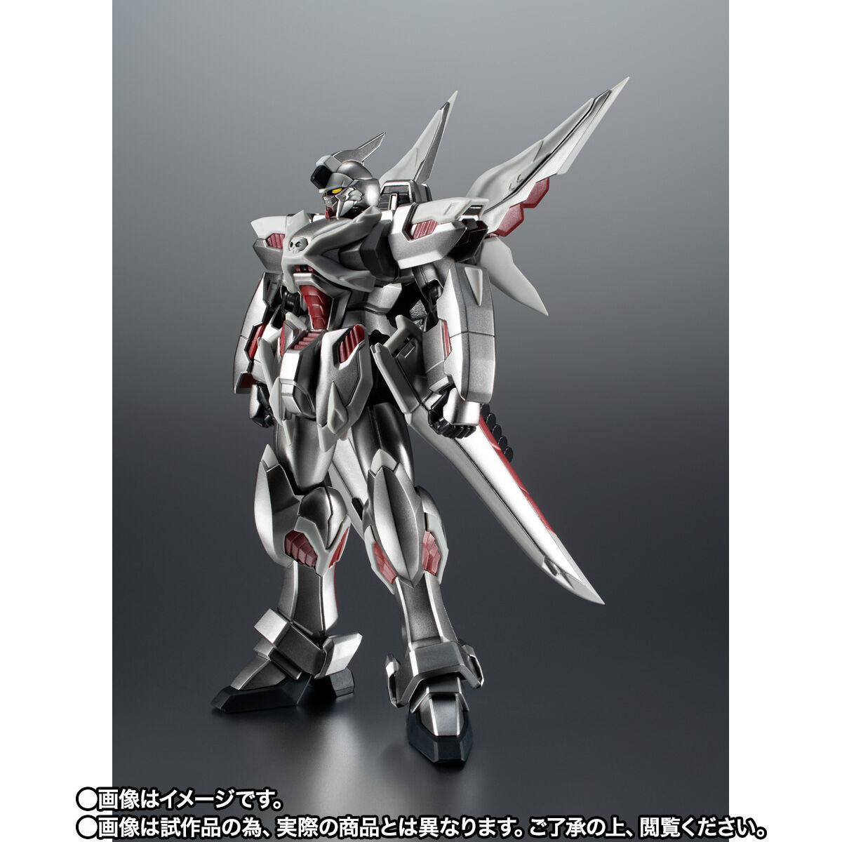 【限定販売】ROBOT魂〈SIDE MS〉『ゴーストガンダム』クロスボーン・ガンダム 可動フィギュア-002