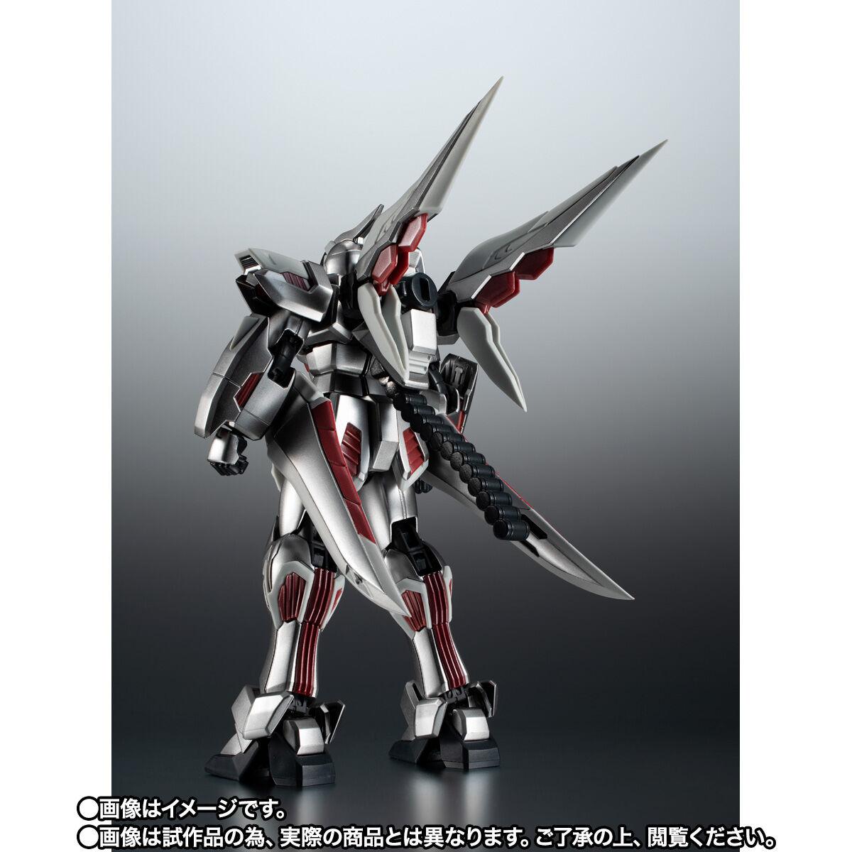 【限定販売】ROBOT魂〈SIDE MS〉『ゴーストガンダム』クロスボーン・ガンダム 可動フィギュア-003