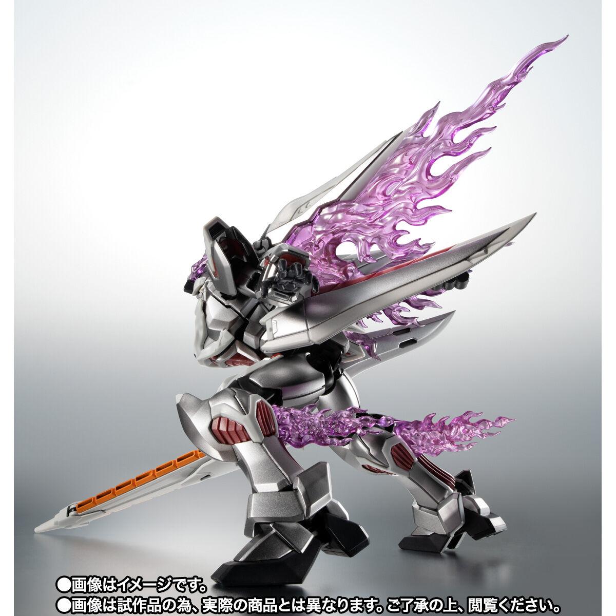 【限定販売】ROBOT魂〈SIDE MS〉『ゴーストガンダム』クロスボーン・ガンダム 可動フィギュア-004