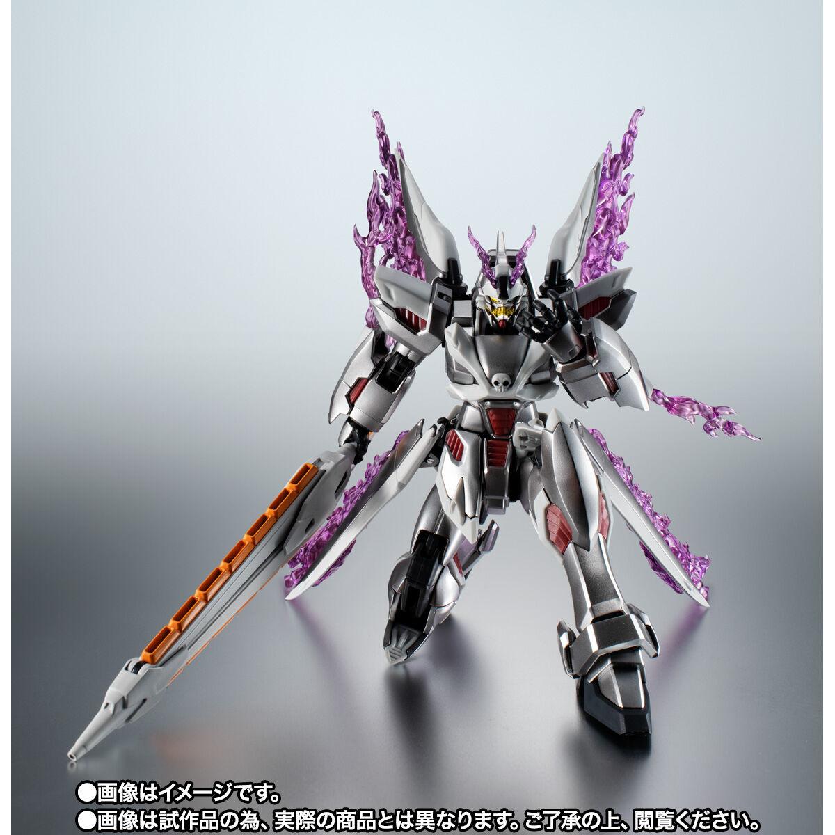 【限定販売】ROBOT魂〈SIDE MS〉『ゴーストガンダム』クロスボーン・ガンダム 可動フィギュア-005