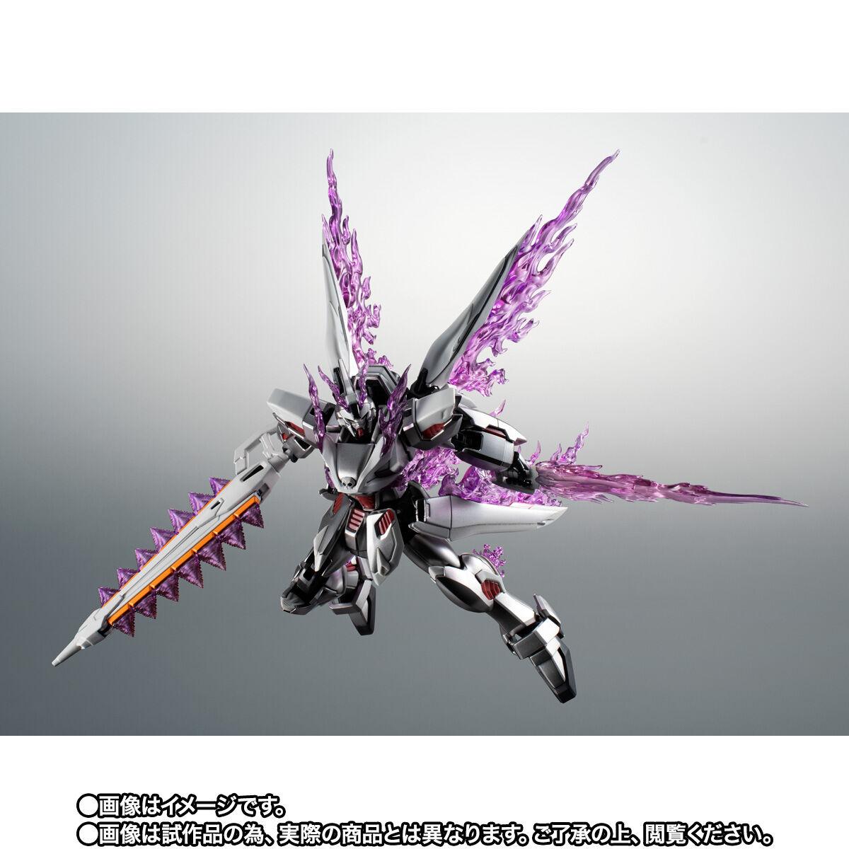 【限定販売】ROBOT魂〈SIDE MS〉『ゴーストガンダム』クロスボーン・ガンダム 可動フィギュア-006