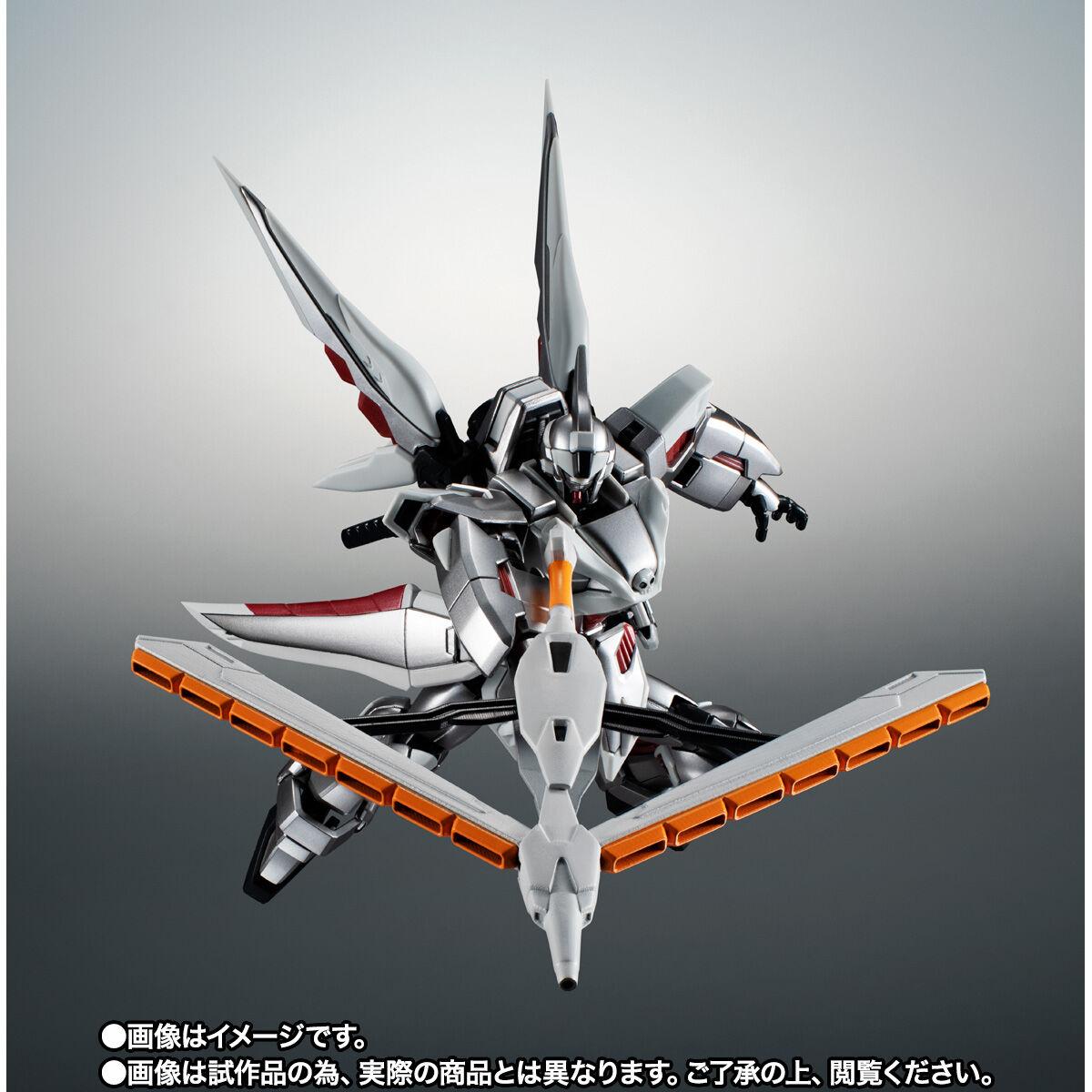 【限定販売】ROBOT魂〈SIDE MS〉『ゴーストガンダム』クロスボーン・ガンダム 可動フィギュア-008