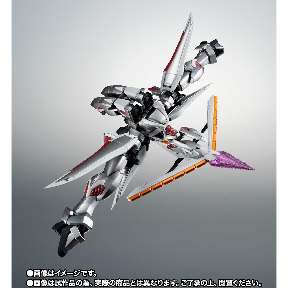 【限定販売】ROBOT魂〈SIDE MS〉『ゴーストガンダム』クロスボーン・ガンダム 可動フィギュア-009