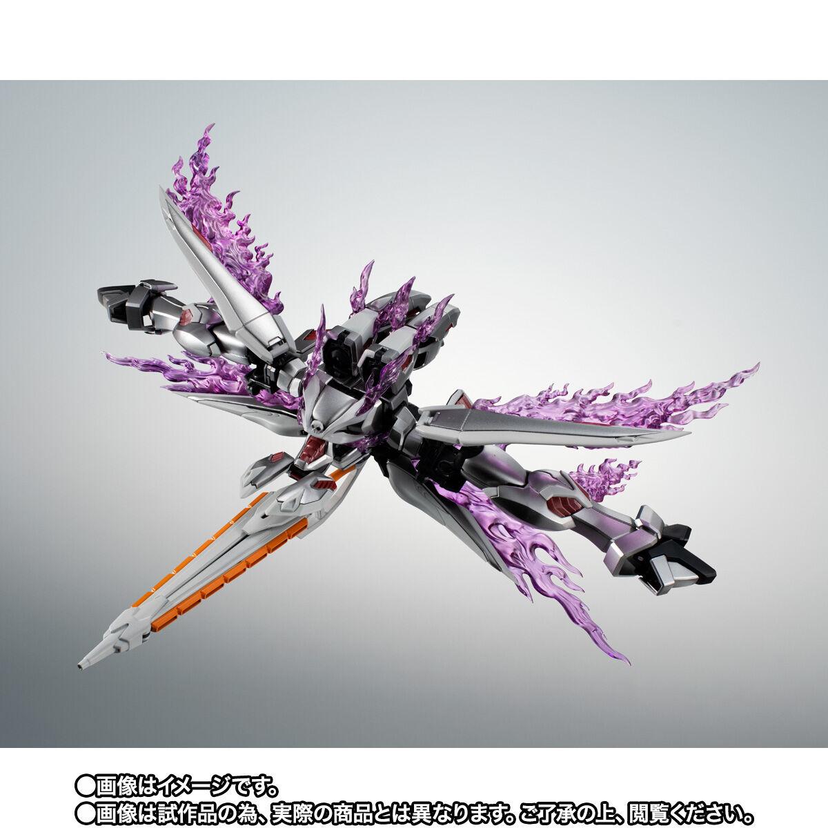 【限定販売】ROBOT魂〈SIDE MS〉『ゴーストガンダム』クロスボーン・ガンダム 可動フィギュア-010
