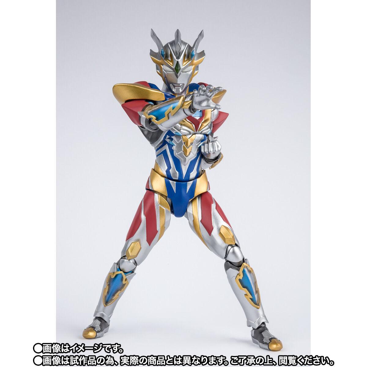 【限定販売】S.H.Figuarts『ウルトラマンゼット デルタライズクロー』ウルトラマンZ 可動フィギュア-003
