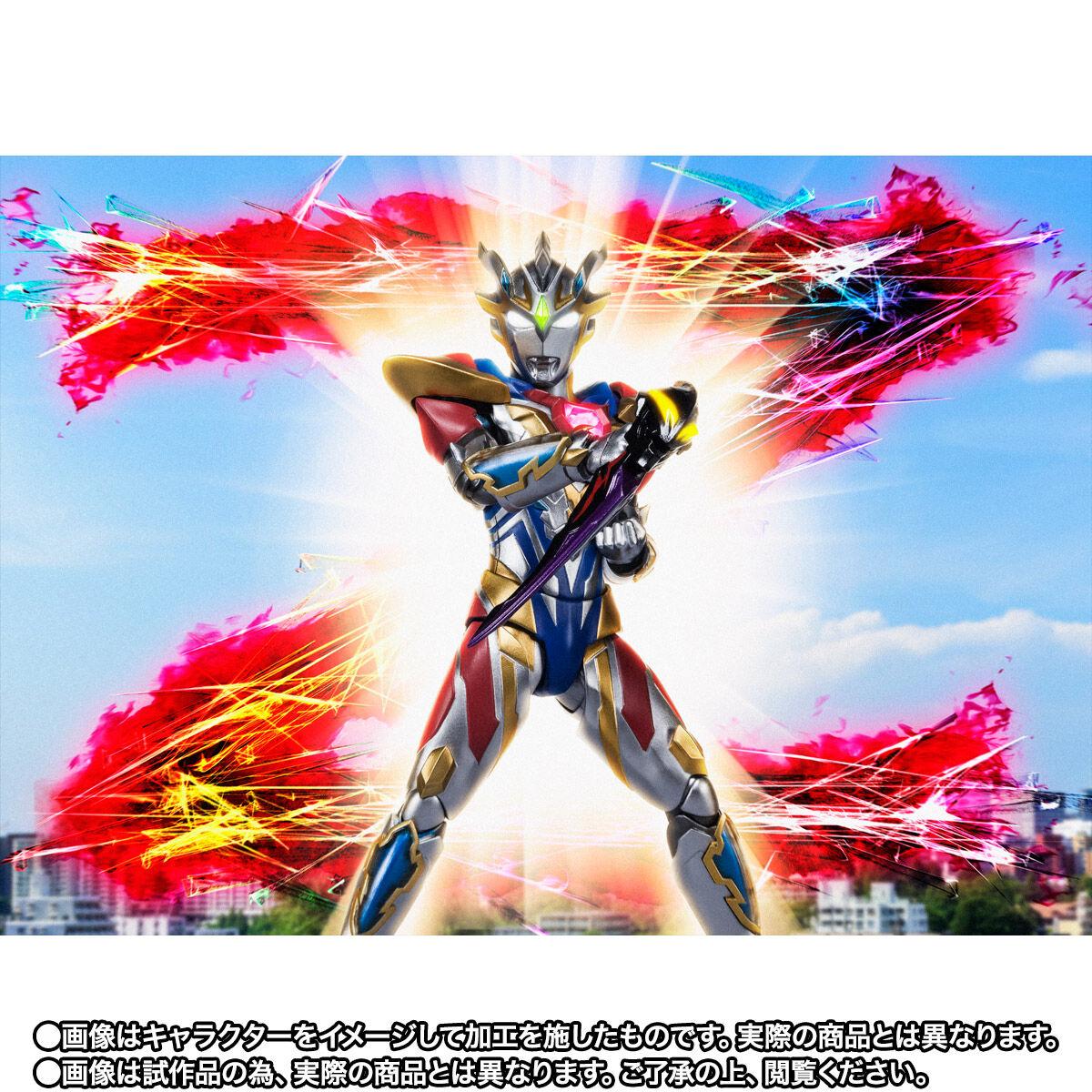 【限定販売】S.H.Figuarts『ウルトラマンゼット デルタライズクロー』ウルトラマンZ 可動フィギュア-009