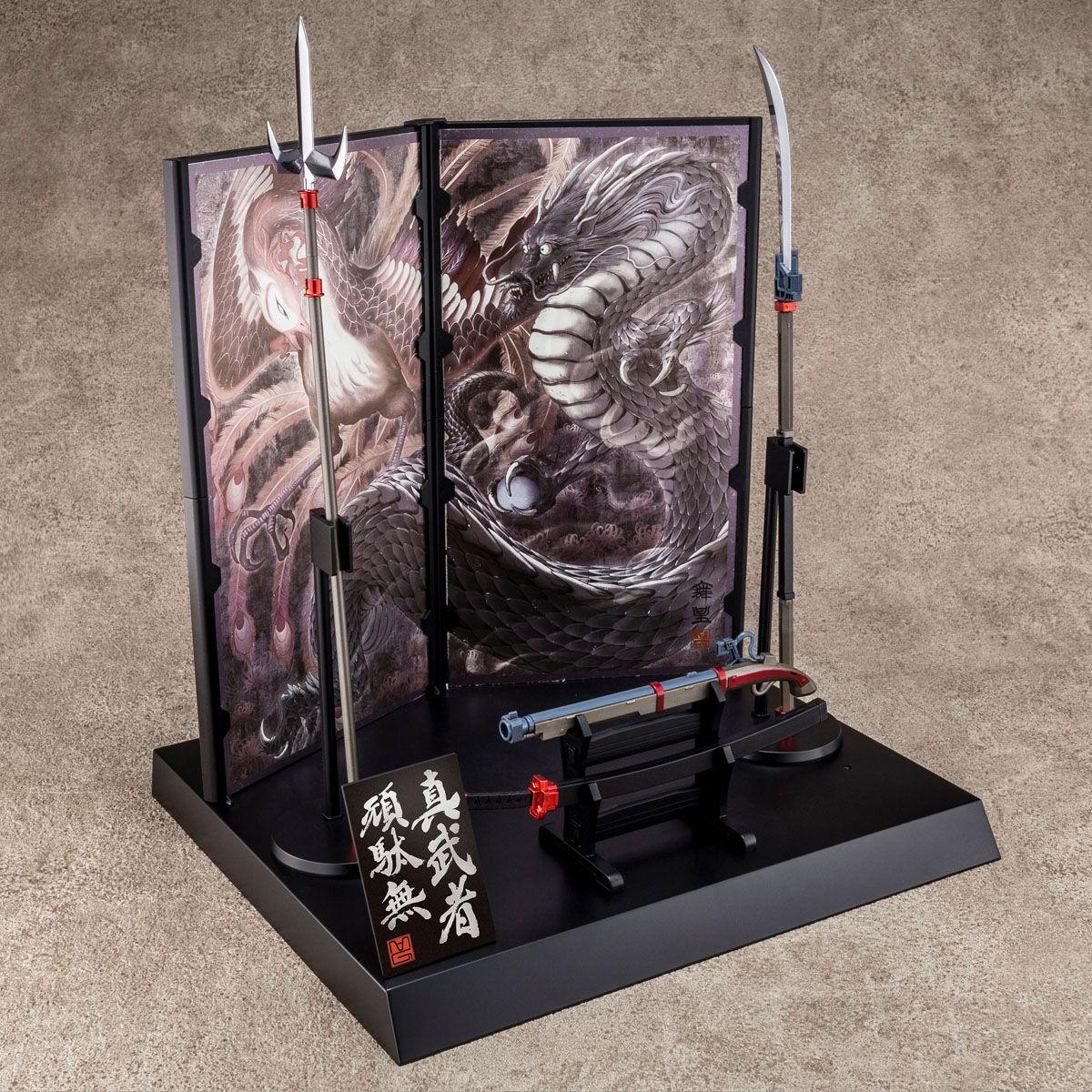 【限定販売】MG 1/100『真武者頑駄無 戦国の陣 黒衣大鎧』ガンダム無双 プラモデル-008