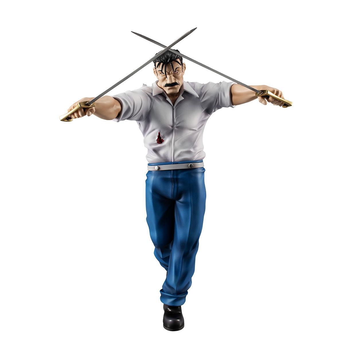 【限定販売】G.E.M.シリーズ『ラース(キング・ブラッドレイ)』鋼の錬金術師 完成品フィギュア-006