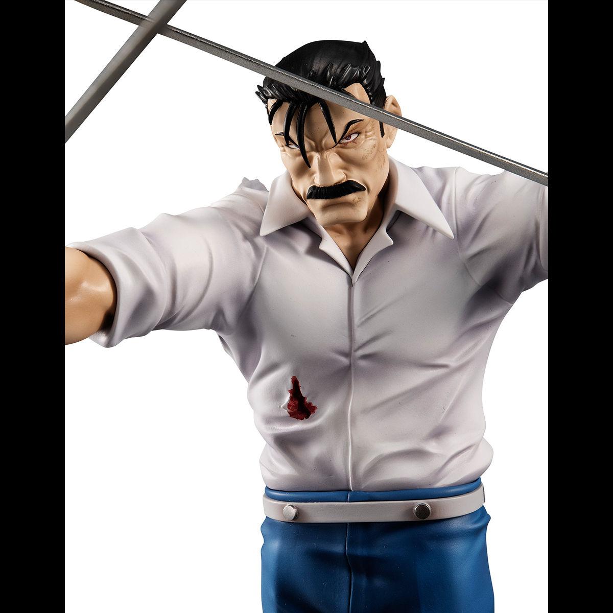 【限定販売】G.E.M.シリーズ『ラース(キング・ブラッドレイ)』鋼の錬金術師 完成品フィギュア-008