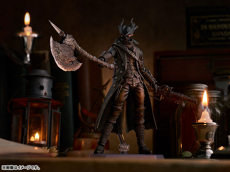 figma『狩人 The Old Hunters Edition』Bloodborne 可動フィギュア-004