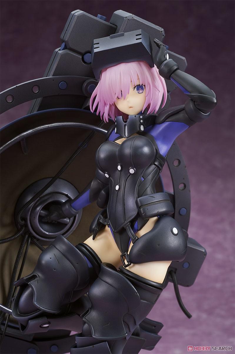 Fate/Grand Order『シールダー/マシュ・キリエライト〔オルテナウス〕』1/7 完成品フィギュア-002