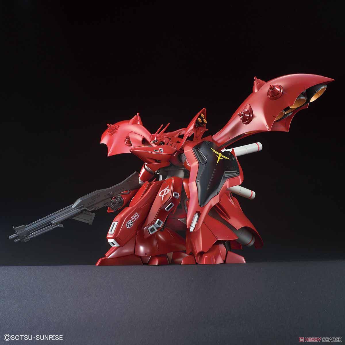 【再販】HG 1/144『ナイチンゲール』逆襲のシャア プラモデル-004