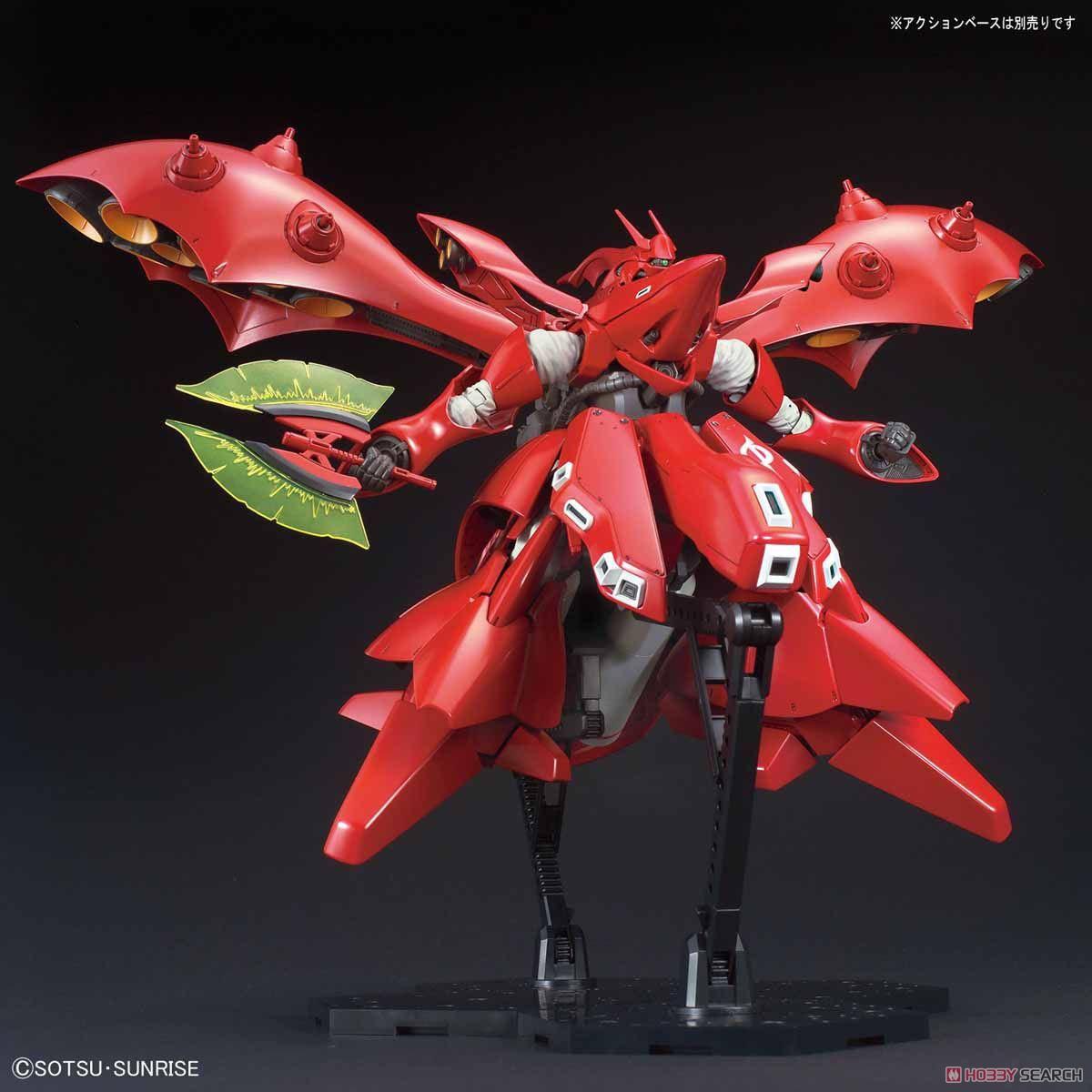 【再販】HG 1/144『ナイチンゲール』逆襲のシャア プラモデル-008