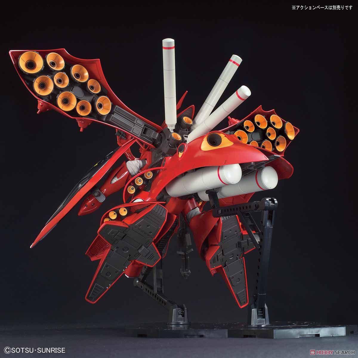 【再販】HG 1/144『ナイチンゲール』逆襲のシャア プラモデル-010